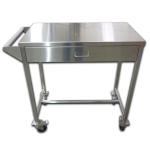 Stainless cart with drawer
