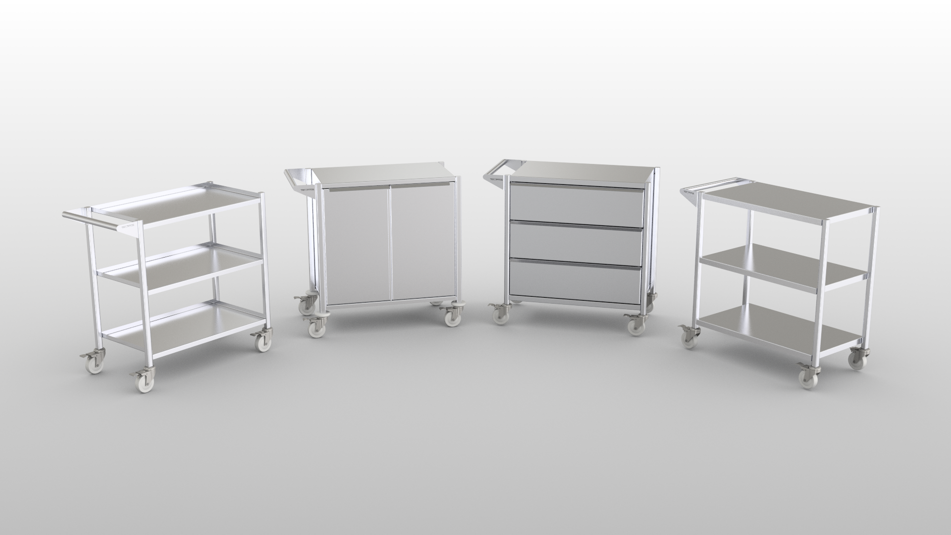 Clean Room Cart Product Line